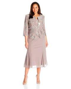 Modelo de Vestidos señoras Mayores