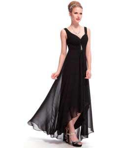 vestido de navidad negro