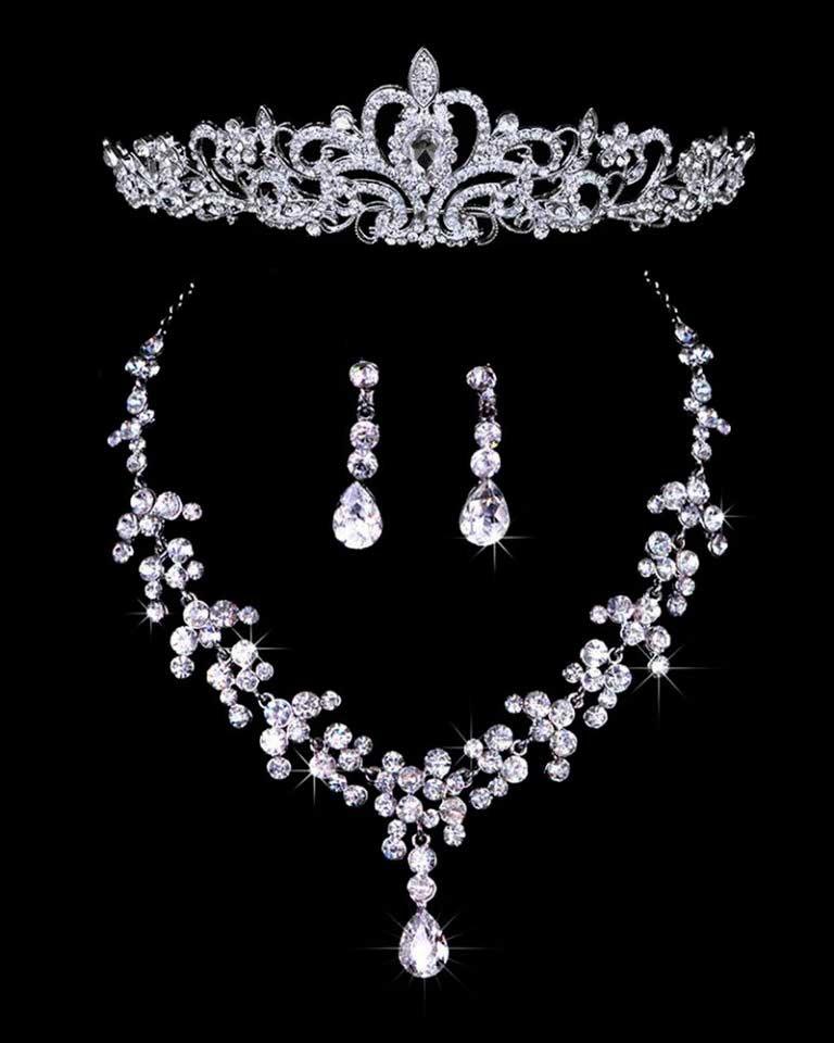 tiara y corona 15 años