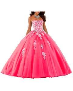 Vestido de 15 años princesa